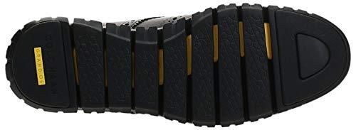 Cole Haan Men's Zerogrand Wing Ox Leather Shoe, British Tan Open Holes/Java, 10 Medium US