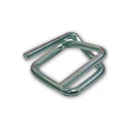 Metallschnallen/Klemmen für Umreifungsband/Textilumreifungsband/Verpackungsband, 16 mm 1000 Stück
