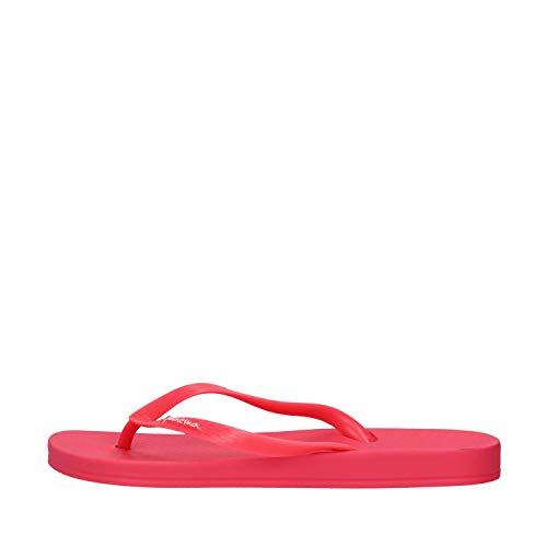 Ipanema Anatomic Colors Zehentrenner Damen Flipflops Thong Offene Zehe Zehen-Sandale Strand-Sandale Freizeitsandalen Gummi Badeschuhe Riemchen 82591 (Neon Pink, Numeric_40)