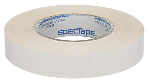"""Spectape ST501 Double Sided Adhesive Tape, 36 yds Length x 1"""" Width Paper"""