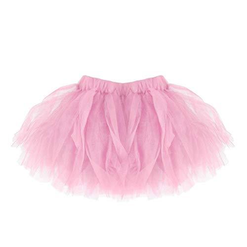 Falda del Tutu para Niña,SHOBDW Bebé Lindo Regalos de cumpleaños para niños Niños Vestidos de Baile Mini Faldas de Ballet Plisadas Rendimiento Fiesta (Rosado)