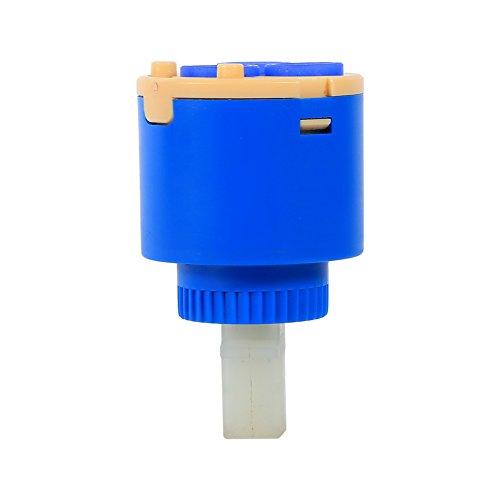 Zwinner Cartucho de Disco de cerámica, Material plástico PP de Calidad para Uso de Agua(35mm, 12)