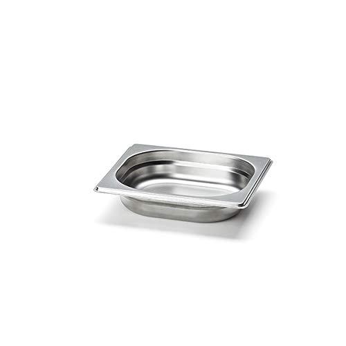 Continenta tiroir à Accessoires pour Objets cta4028, Acier Inoxydable, Inoxydable, Petite Taille, 17,5 x 16,5 x 4 cm