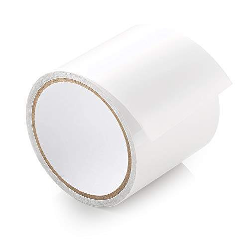 ecooe Zelt Klebeband 5M x 8CM Zelt Reparaturband Transparent wasserdichte Professionell geeignet für PVC-beschichtetes Zelt markisen Pavillon Flicken