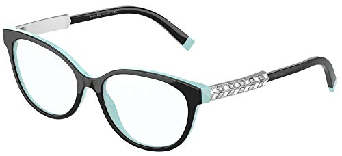 Tiffany Brillen TF 2203B Black Turquoise 54/16/140 Damen