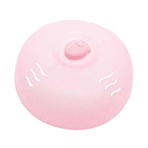 Joie Oink Tapa para microondas, Rosa y Blanco, 26.035x26.035x8.89 cm