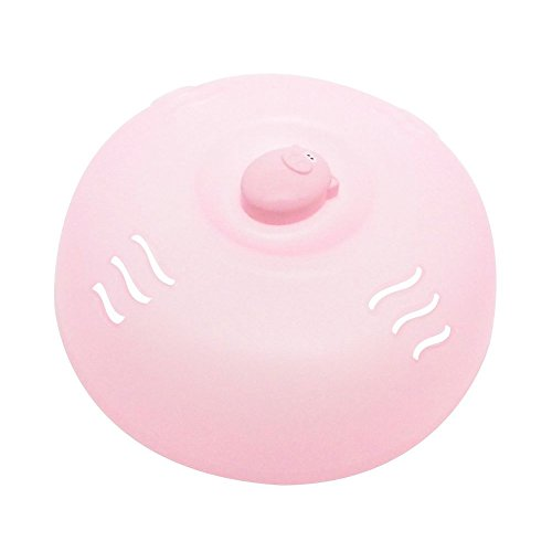MSC International Joie Oink Plastic Pig Microwave Plate Lid Cover, 26.035x26.035x8.89 cm, Pink