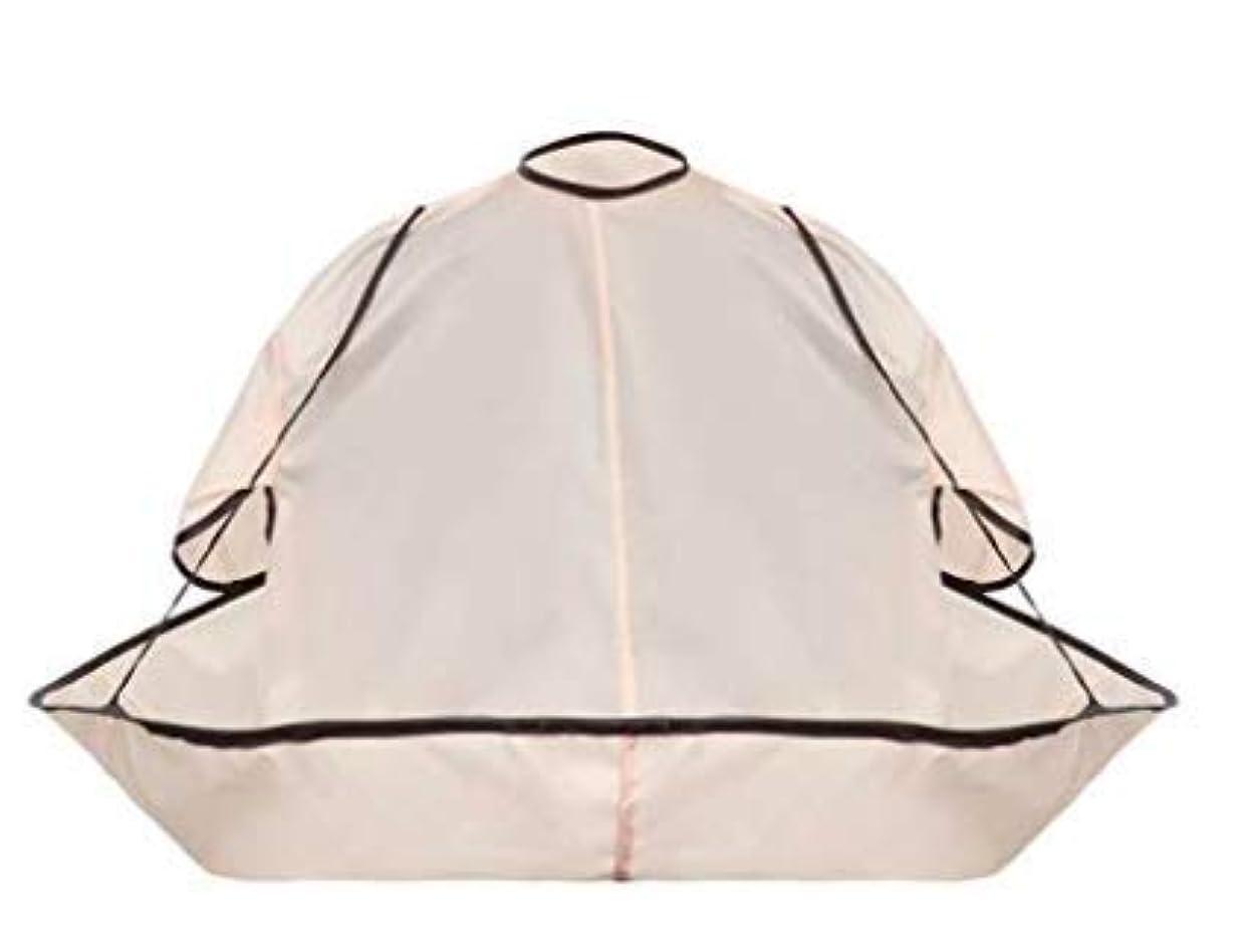 る滑る暗唱するiromo(イロモ) カットクロス 散髪 ケープ ヘアカット ヘアーエプロン セルフ カット カラー 自宅 毛染め コンパクト 収納袋付き