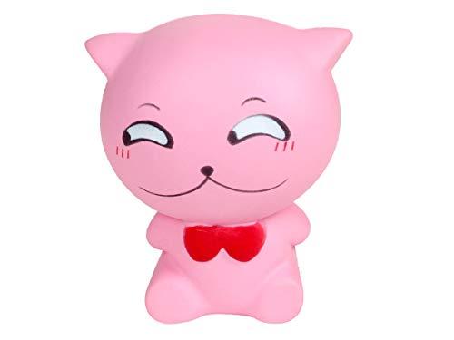 Alsino Squishies Squishy Anti Stress Squishie Knautschi Squeeze Spielzeug Slow Rising zum Drücken Stressabbau Kinder & Erwachsene, Variante wählen:SQ-239 Katze schüchtern