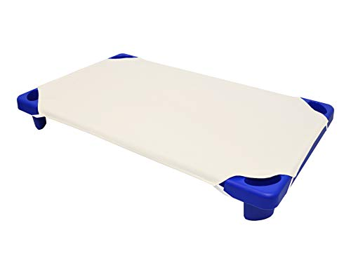 American Baby Company 100% Natural Cotton Percale Toddler Daycare/Pre-School Cot Sheet, Ecru, 23 x 40, Soft Breathable, for Boys and Girls
