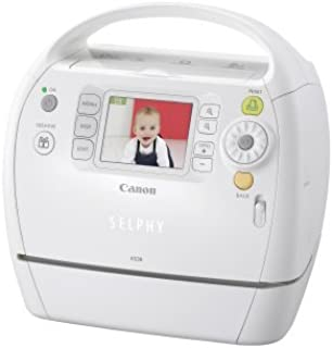 Canon Selphy ES30 Compact Photo Printer (White) (2676B001)