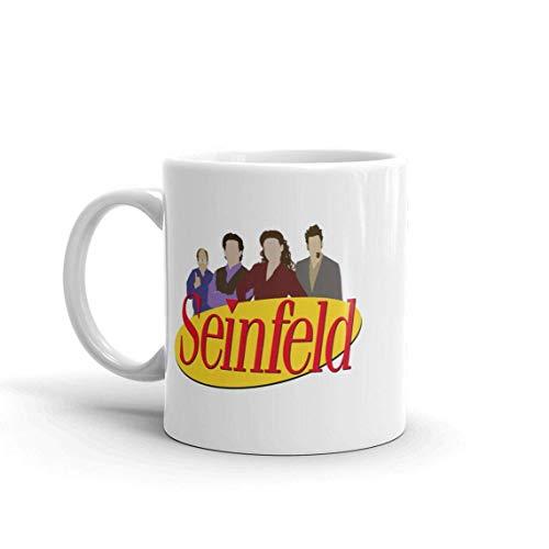 N\A Seinfeld Squad - Taza de cerámica de 11 oz