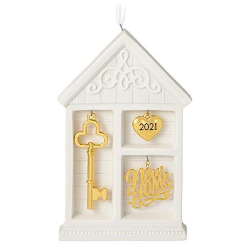Hallmark Keepsake Christmas Ornament 2021 Year-Dated, New Home Shadow Box