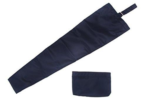 紺色無地・二本用傘袋
