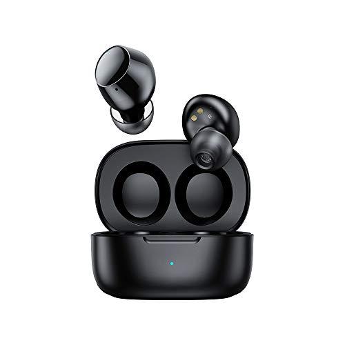 MIFA X19 Auriculares Inalámbrica, Bluetooth 5.0 Auriculares internos TWS Auriculares Deportivos Estéreo Auriculares con Control Táctil Micrófono Incorporado con Estuche de Carga, Negro