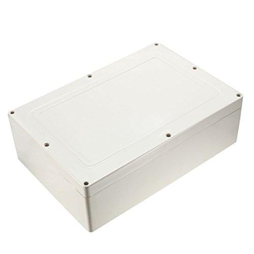 sourcingmap 150 x 150 x 63mm Electronic Plastic DIY Junction Box Enclosure Case White