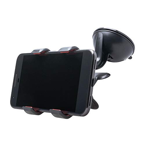 Shop4 - Universele Telefoonhouder Auto Raam (max. breedte 110mm)