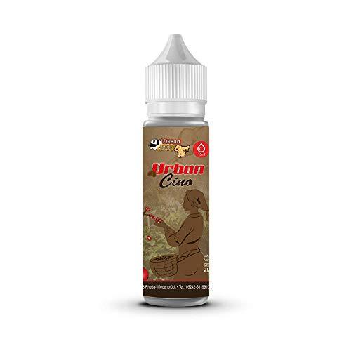 Urban Juice Urbancino Longfill 15 ml Aroma zur Herstellung von 60 ml e Liquid feinstem Kaffee Cappuccino Milchschaum Süsse nikotinfrei