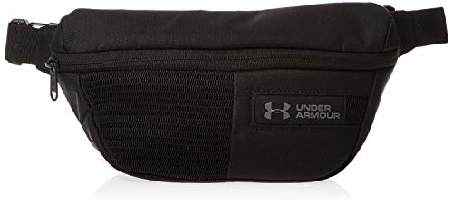 Under Armour UA Waist Bag Paquetes de la Cintura, Unisex Adulto, Negro (Black/Black/Graphite 001), Talla única