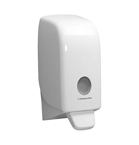 AQUARIUS Seifenspender 6948 23,5x11,6x11,4cm Kunststoff weiß - Hygieneartikel Spendersysteme Spender Waschlotionspender Seifenspender