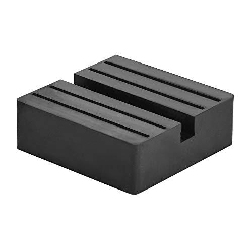 DEDC Universal Auto Wagenheber Gummiauflage quadratischer Wagenheberblock Jack Pad Disk Block Gummiauflage Schutz Adapter (1 Pcs)