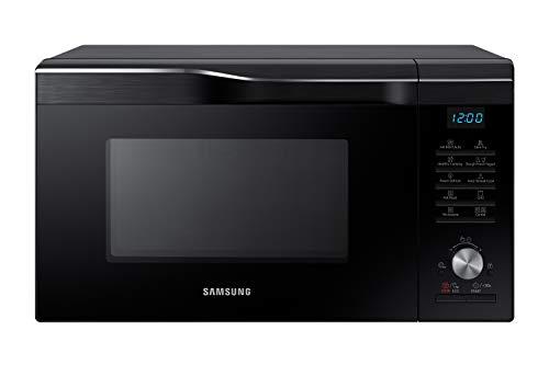 Samsung MC28M6055CK/EG Kombi-Mikrowelle mit Grill und Heißluft / 900 W / 28 L Garraum (Extra groß) / 51,7 cm Breite / HotBlast / Slim-Fry / schwarz