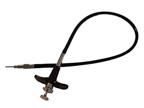 vhbw Cable Mando a Distancia, Disparador, Control Remoto 40cm para cámaras Nikon F4, F80, F80D, FM3A, FM10, FE10, F3, FM2, D100, X100.
