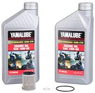 Oil Change Kit Yamaha WR400F/ YZ400F/YZ426F Semi-Syn 10W-50