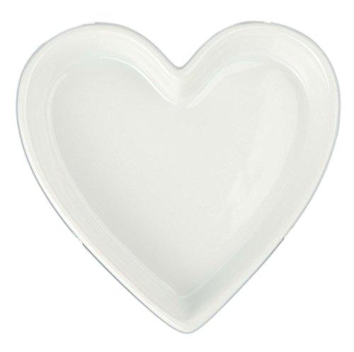 Bia Cordon Bleu 900069 Quiche en porcelaine en forme de cœur 177 ml