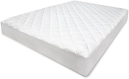 SensorPEDIC Coolmax 300 Thread Count King Mattress Pad White
