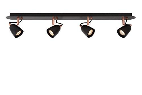 Lucide RIDE-LED - Spot Plafond - LED Dim. - GU10 - 4x5W 3000K - Cuivre