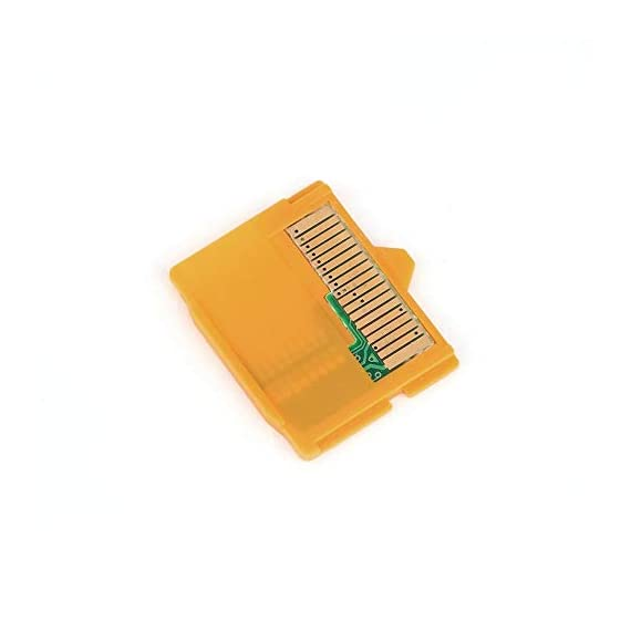 Rodalind yellow 25 x 22 x 2mm(l x w xh) 1pcs micro sd attachment masd-1 camera tf to xd card insert adapter for olympus 8 it is compact and portable tf(micro memory card) to xd camera card adapter prevent your camera and card from damage