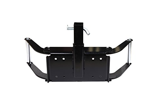 ZESUPER Winch Cradle Winch Mounting Plate, Hitch Mount Winch Plate,Winch Mount Recovery Winches for 8000 lb.-12000 lb.Winches