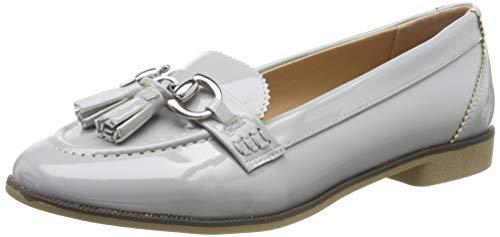 Dorothy Perkins Women's Loafers, Grey Slide Grey 1003, 10
