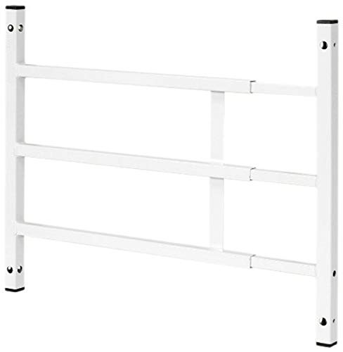 """Segal S 4752 Fixed Adjustable Child Safety Window Guard Prevents Accidental Falls, Tamper Resistant Screws Included, Non-Egress, 15-1/4""""H x 23-1/2""""-38""""W, White"""