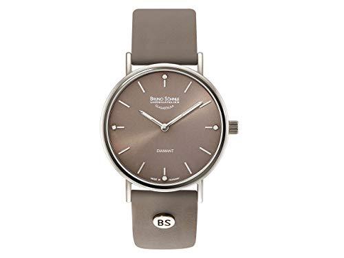 Bruno Söhnle Damen Analog Quarz Uhr mit Leder Armband 17-13124-891