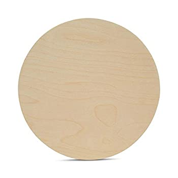 Wood Plywood Circles 16 inch 1/4 Inch Thick Round Wood Cutouts Pack of 1 Baltic Birch Unfinished Wood Plywood Circles for Crafts by Woodpeckers