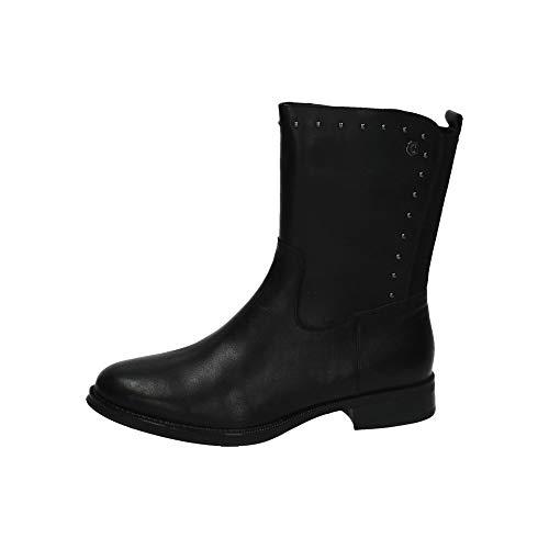 CARMELA 66435 Stiefeletten mit hohem Schaft für Damen, Schwarz - Schwarz - Größe: 37 EU