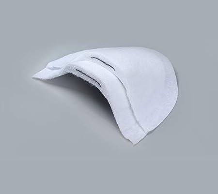 SM SunniMix 10pcs//Pack Soft Cotton Sewing Suits Shoulder Pads for Men Women T-Shirt Coat Clothes