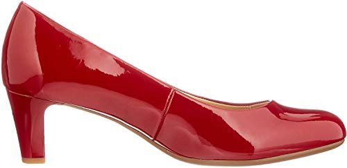Gabor Shoes Damen Fashion-41.400 Pumps, Rot (Cherry (+Absatz) 75), 40 EU