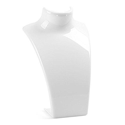 Sukisuki Halskette, Ohrringe, Schmuck-Ständer, Kunststoff, plastik, weiß, Einheitsgröße
