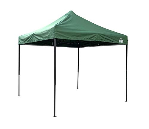 All Seasons Gazebos 2.5 x 2.5m Heavy Duty, Fully Waterproof Pop up Gazebo (Green)
