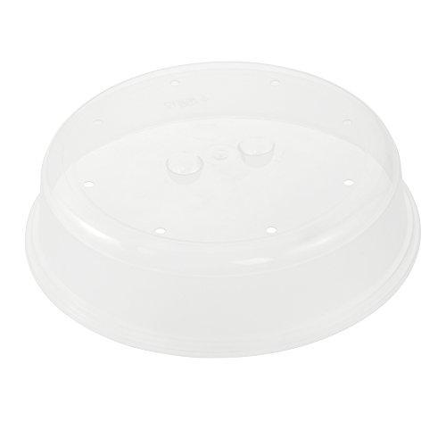 keeeper Tapa para microondas, Plástico resistente (PP) ,Ø 26,5 x 6,5 cm, Bella, Transparente neutro