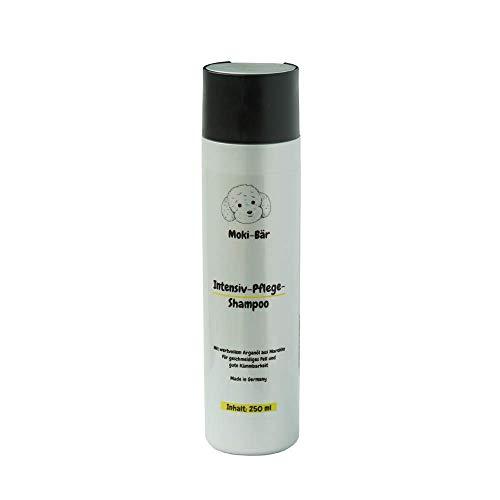 Moki Bär Hundeshampoo wit wertvollem Arganöl aus Marokko I Für geschmeidiges Fell und Gute Kämmbarkeit I Made in Germany