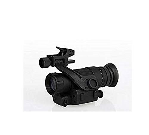 PVS-14 Nachtsichtgerät Infrarot Dark Night Vision Zielfernrohr Teleskop for Gewehr Nachtsichtgeräte Monokulare 200m Für die Jagd Beobachten Sie