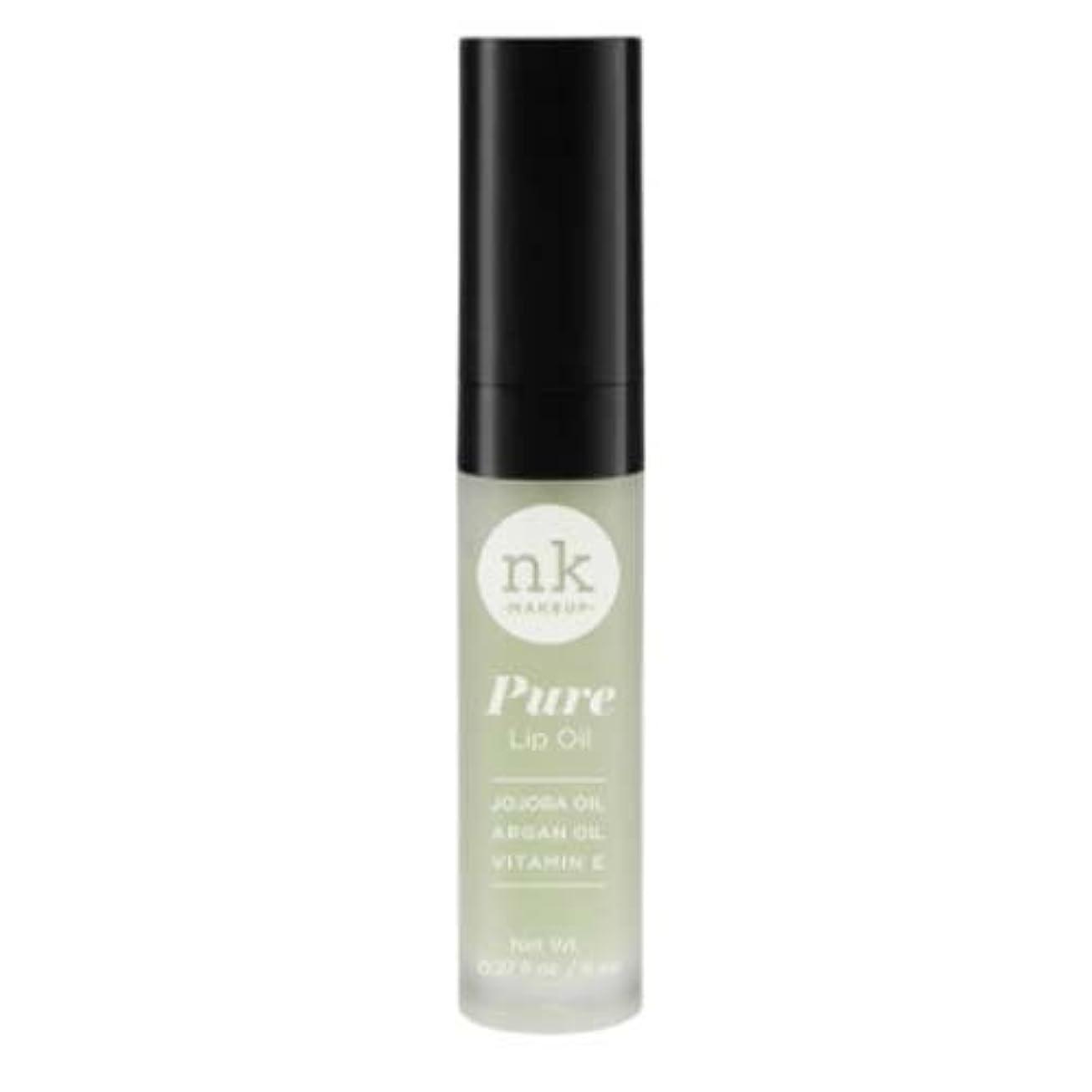 スリップシューズプット学者(6 Pack) NICKA K Pure Lip Oil - Pepper Mint (並行輸入品)