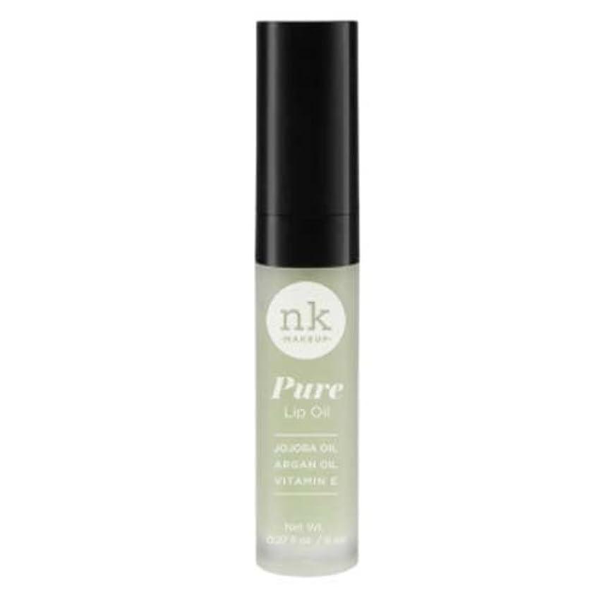 ゴミ展開する払い戻し(6 Pack) NICKA K Pure Lip Oil - Pepper Mint (並行輸入品)