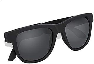 Elikliv Bone Conduction Bluetooth 5.0 Sunglasses Open-Ear Headset Polarized Eyeglasses Wireless Glasses