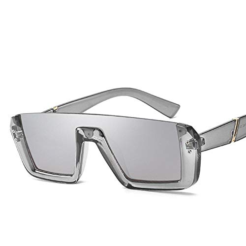 JIAOBU Polarisierte Sportsonnenbrille Blendfreies Ultraviolettes Licht Und Langlebiger Rahmen, Geeignet Für Alle Sportarten C6. Grauer Rahmen, Weißes Quecksilber