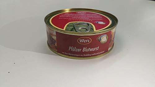 Werz Hausmacher Dosenwurst Pfälzer Blutwurst 3 x 200g Ringpull-Dose